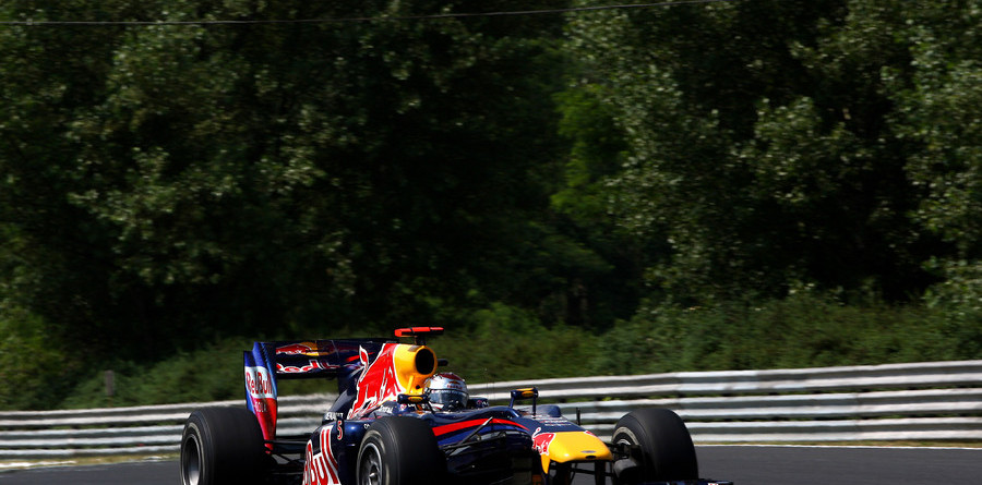 Vettel off to promising start in Hungarian GP