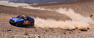 Dakar Al-Attiyah now an hour ahead as Sainz falters