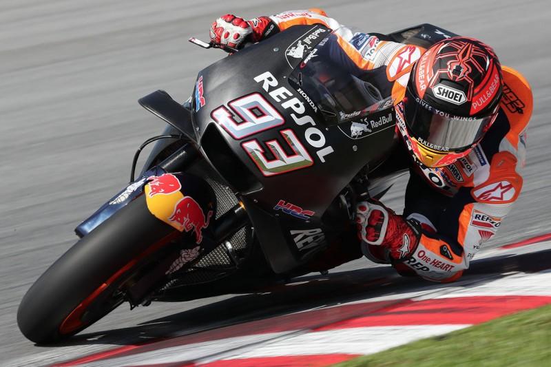 MotoGP-Test Sepang: Bestzeit für Marc Marquez trotz Verletzung