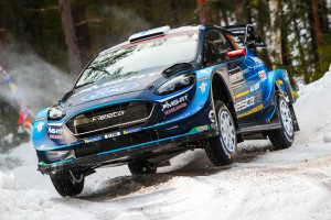Rallye Schweden 2019: Suninen verteidigt seine Führung