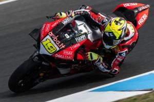 WSBK-Test Phillip Island: Ducati und BMW schneller als Kawasaki