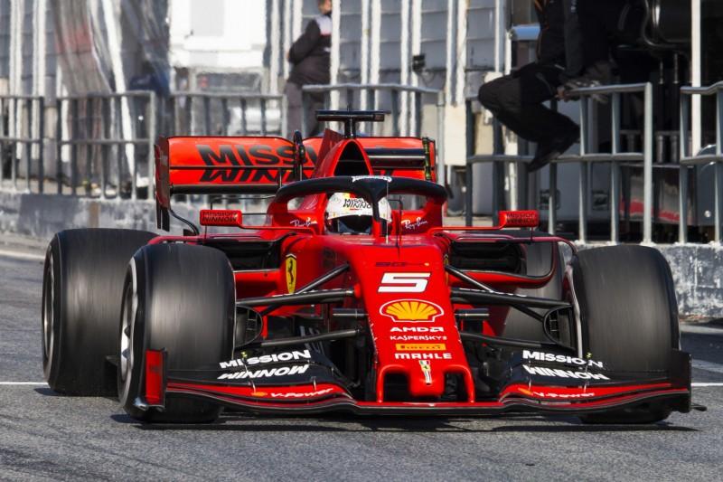 Sebastian Vettel: Der neue Frontflügel ist hässlich!