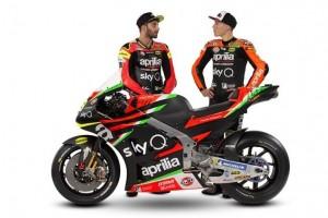 Aprilia zeigt die neuen Farben für die MotoGP-Saison 2019