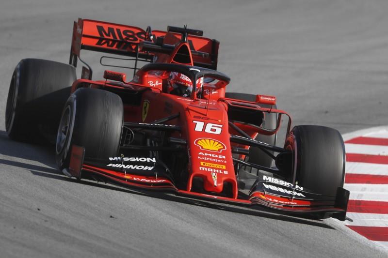 Fernando Alonso bei Tests von Ferrari