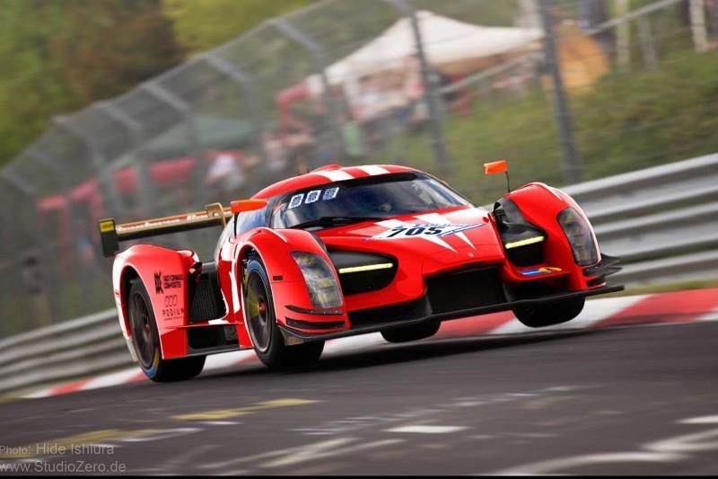Glickenhaus bei 24h Nürburgring 2019: SCG003c wird Rot