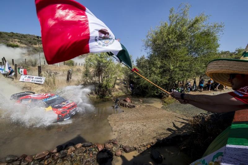 Rallye Mexiko 2019: Erste Prüfung gestrichen, Lappi führt