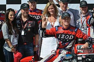 IndyCar Andretti Autosport unveils DHL sponsor entry