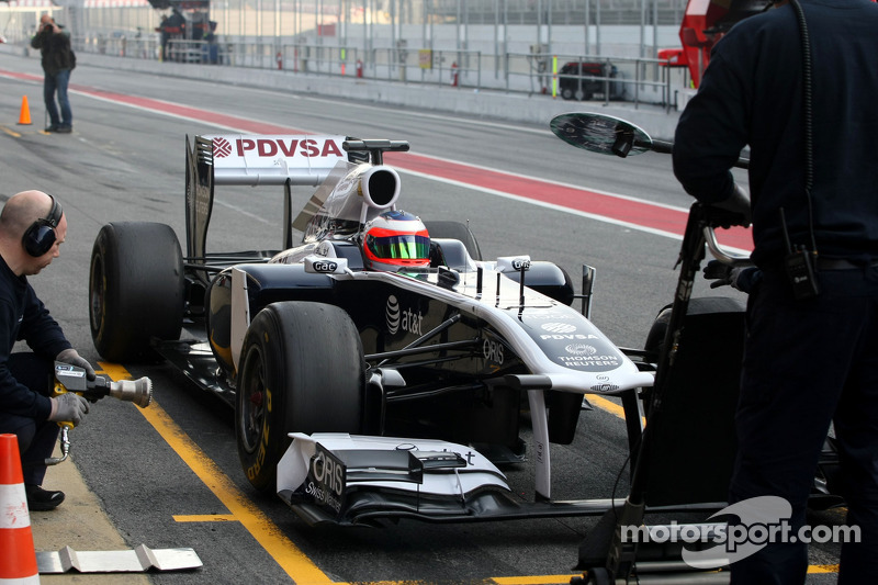 Now Williams following Red Bull's lead on exhausts