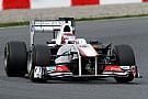 Sauber Barcelona test report 2011-03-11