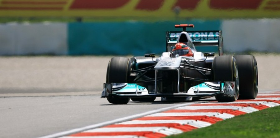 Mercedes GP Qualifying Report