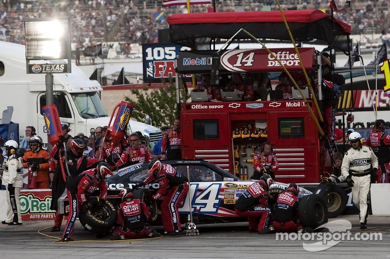 Tony Stewart race report