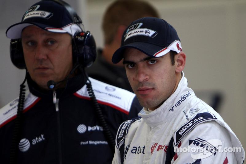 Turkish GP Williams Friday Practice Report