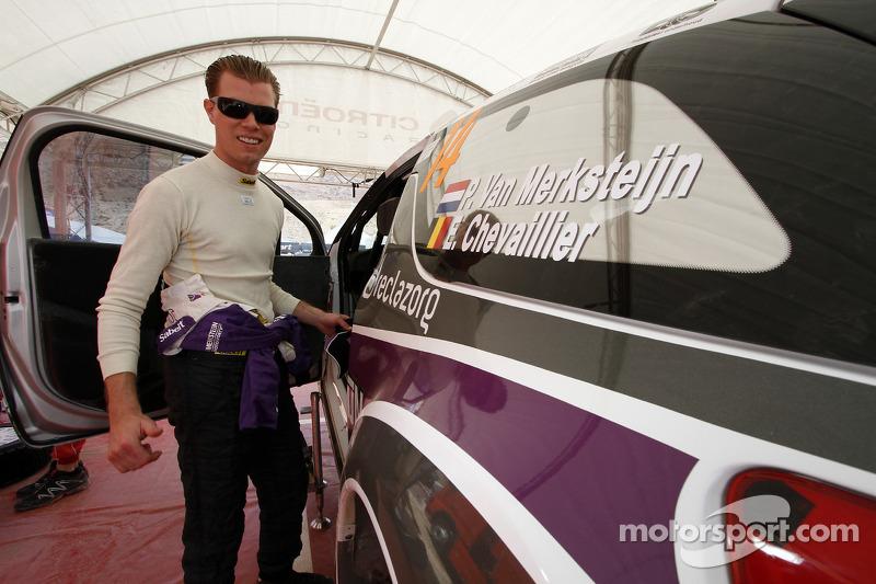 Van Merksteijn Motorsport Rally Italia Sardegna leg 1 summary