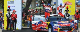 WRC Loeb dominates in Rally d'Italia Sardegna