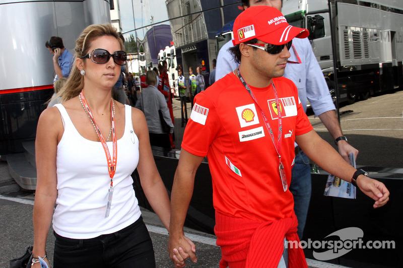 Massa reveals racy pre-race ritual
