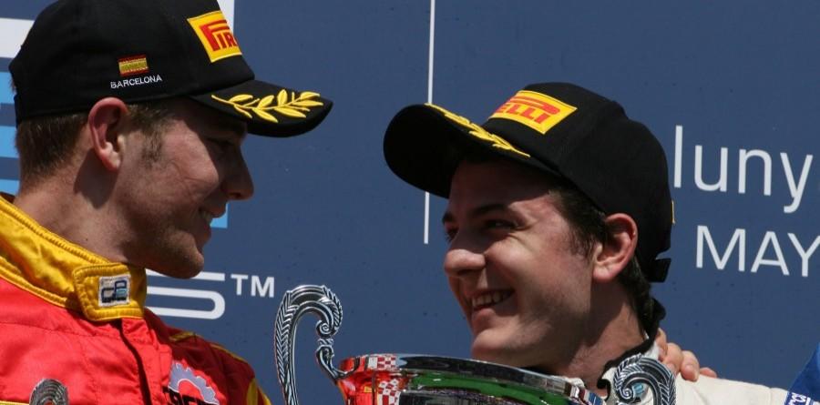 GP2 Barcelona Race 2 Podium Quotes