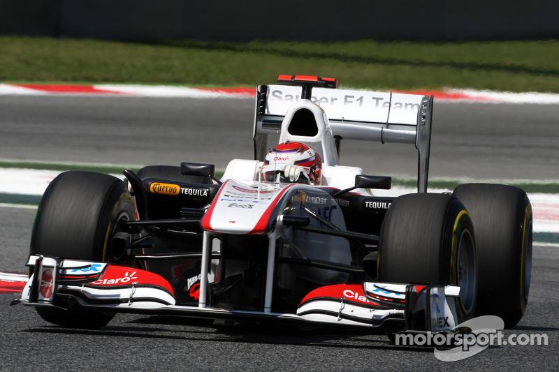 Sauber Monaco GP Friday Practice Report