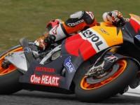Stoner Tops British GP Time Chart On Friday