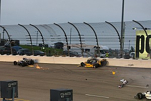 IndyCar Mike Conway Iowa Race Report