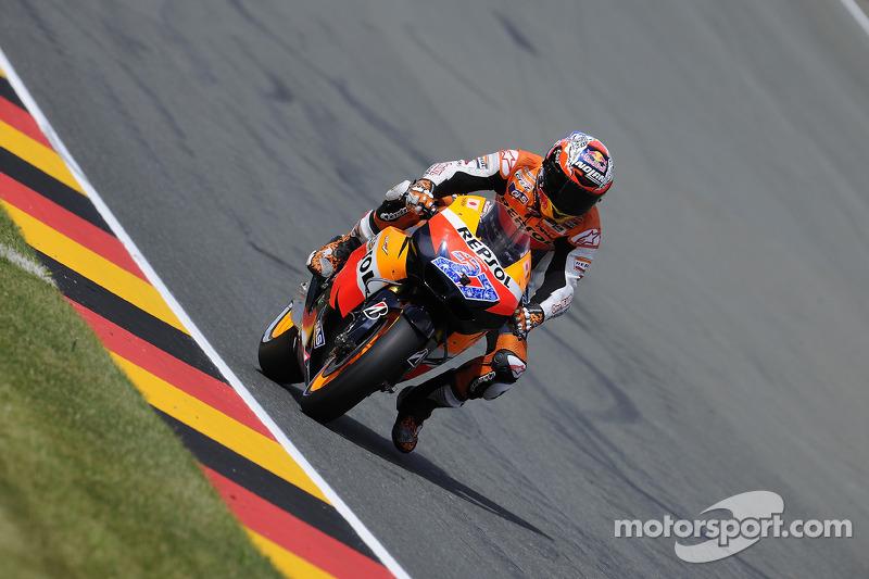 MotoGP Series German GP Qualifying Report