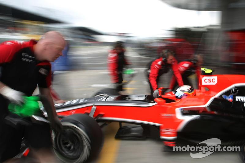 Marussia Virgin German GP - Nurburgring Friday Practice Report