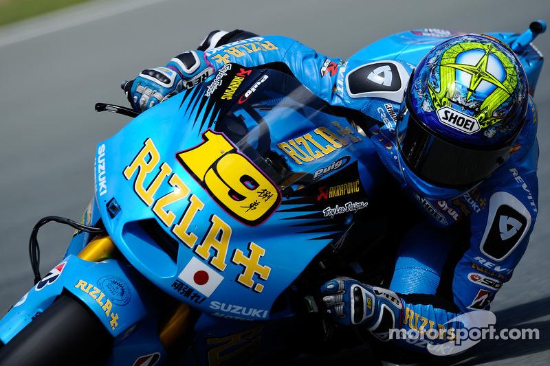 Rizla Suzuki US GP Qlualifying Report