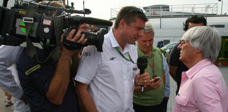 Bosses To Meet Ecclestone Over British F1 TV Deal