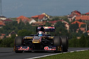 Formula 1 Toro Rosso Hungarian GP Qualifying Report