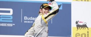FIA F2 Grosjean Claims Fifth Win Of 2011 In Budapest Feature Race