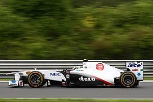 Formula 1 Sauber Hungarian GP Race Report