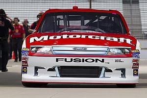 NASCAR Cup Trevor Bayne  Indianapolis Race Report