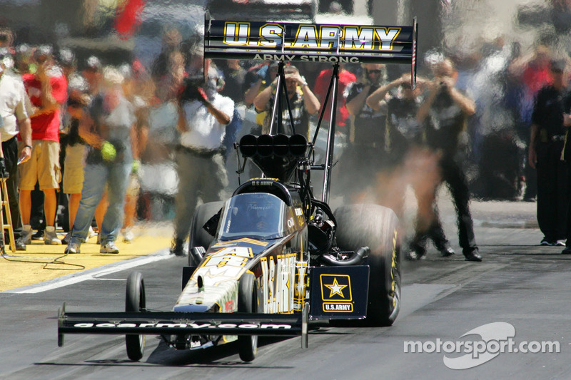 Tony Schumacher Seattle Saturday Report