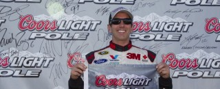 NASCAR Cup Biffle claims Sprint Cup pole in Michigan