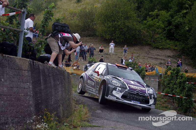 Van Merksteijn Rallye Deutschland leg 2 summary