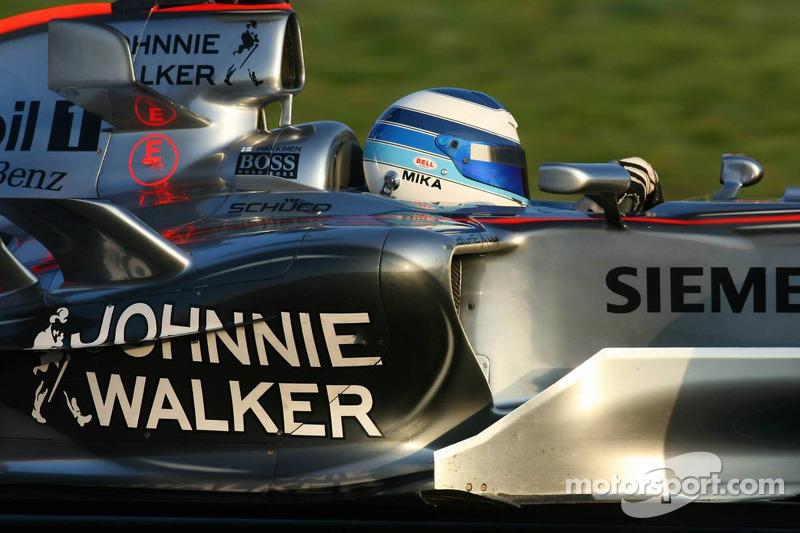 Rosberg - fonder Formula One memories of Hakkinen over Schu