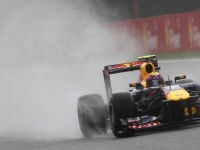 Webber quickest in 2nd practice session for Belgian GP at Spa