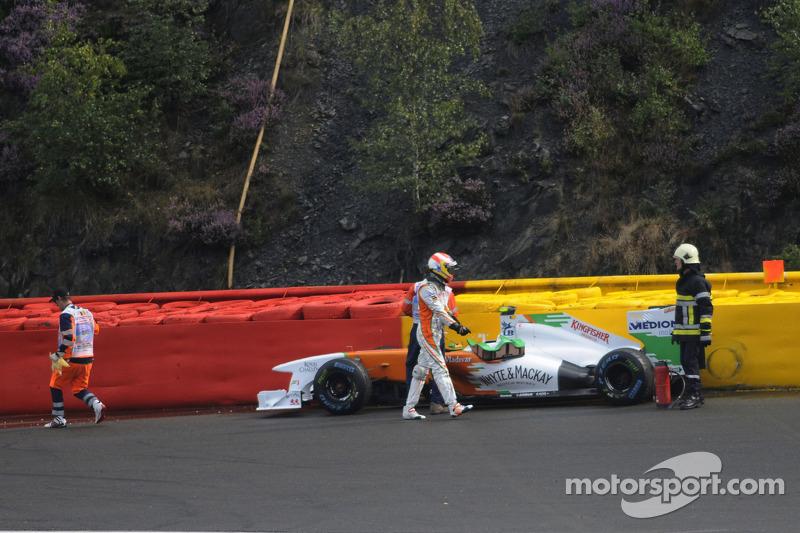 Force India Belgian GP - Spa Friday practice report