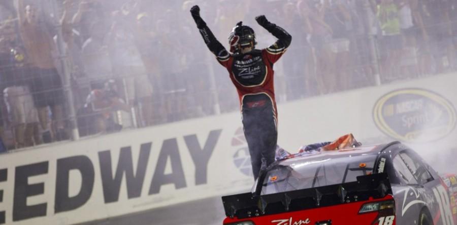 Kyle Busch Bristol II race report