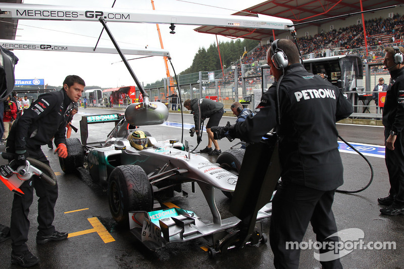 Stewards overrule 107pc cut for four drivers at Spa
