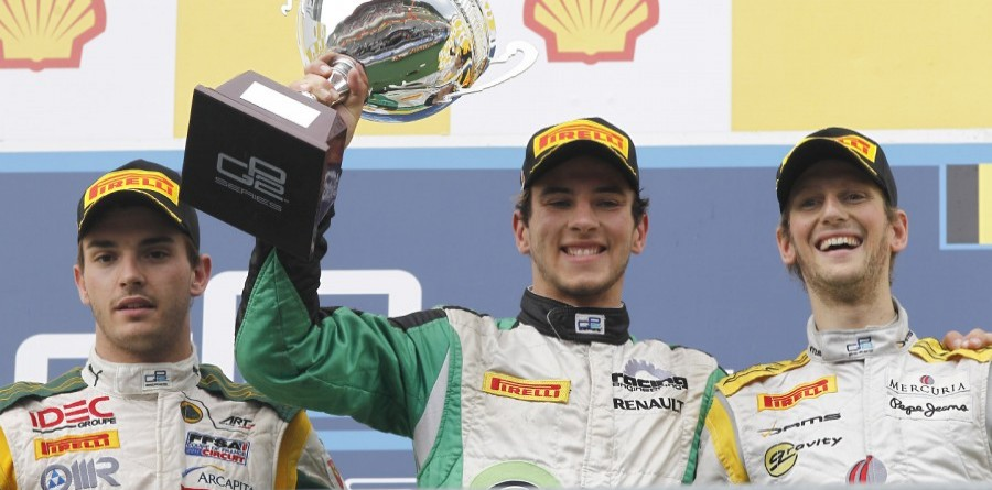 GP2 Series Spa race 1 press conferece