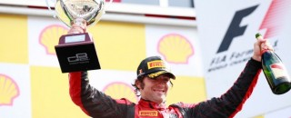 FIA F2 Filippi grabs Sprint race win at Spa