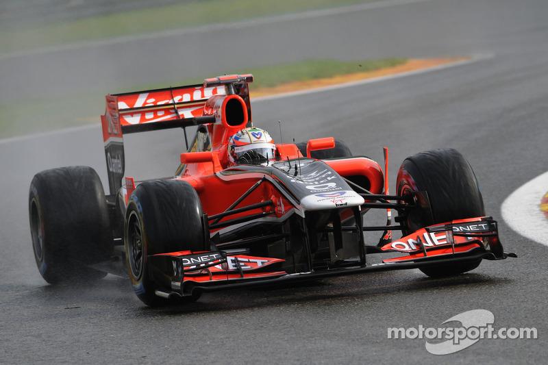 Marussia Virgin Belgian GP - Spa race report