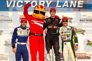 IndyCar Firestone Racing Baltimore race report