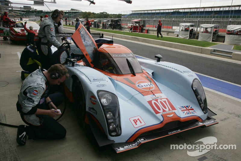 Aston Martin Silverstone qualifying report