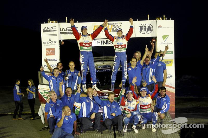 Ford Rally Australia final leg summary