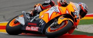 MotoGP Stoner earns 100th Repsol Honda win