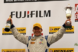 BTCC Rob Collard Rockingham event summary