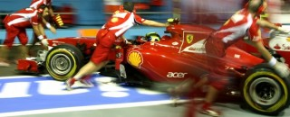 Formula 1 Ferrari Singapore GP Friday practice report
