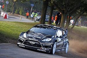 WRC Ford Rallye de France leg 1 summary