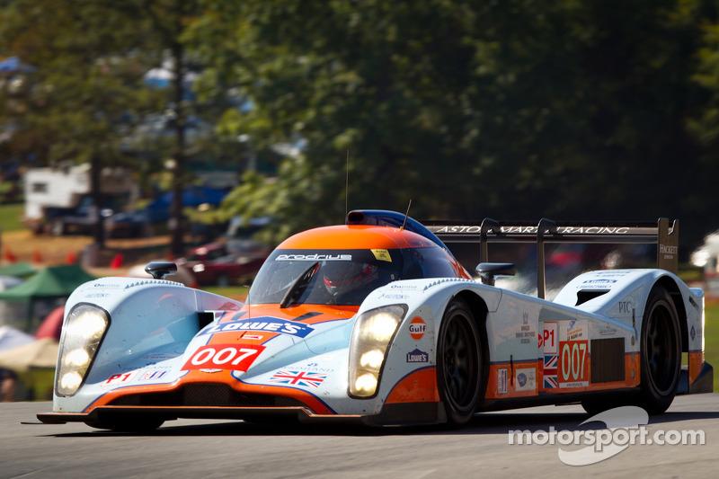 Aston Martin Racing Petit Le Mans qualifying report